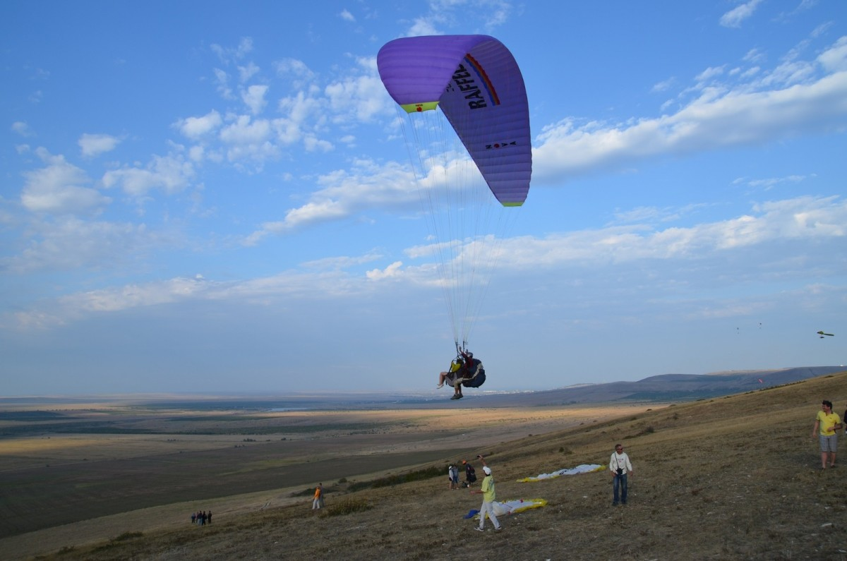 Фото: Полёт на параплане с инструктором