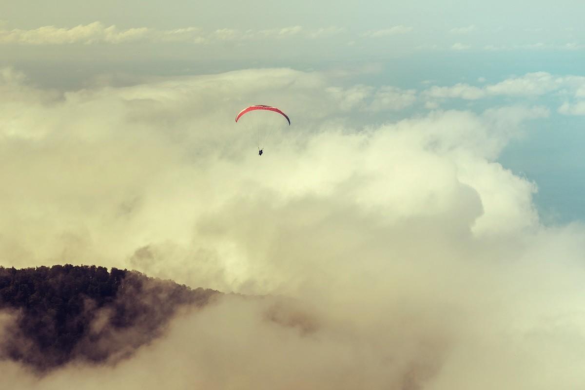 Фото: Полет на параплане в Абхазии, Гагра