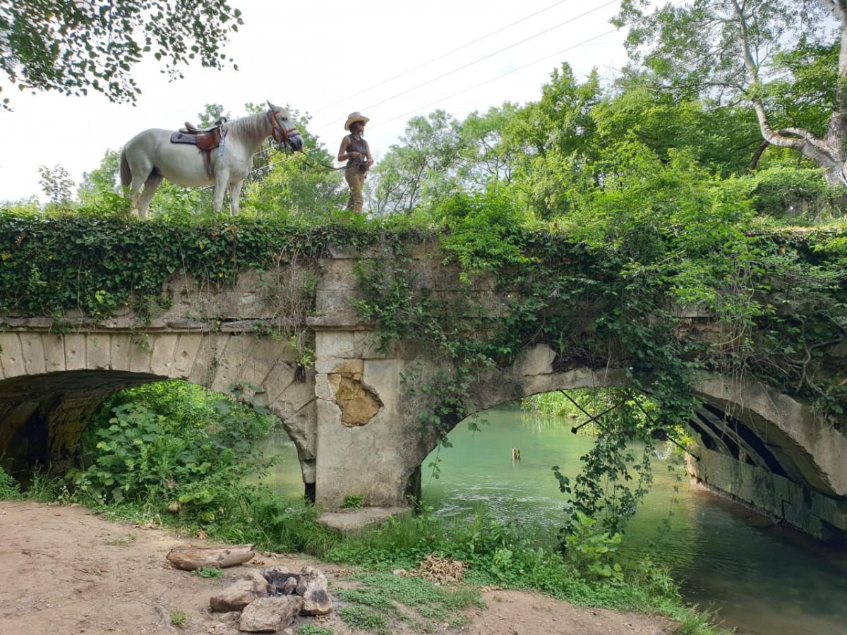 Фото: Чоргуньский мост-акведук