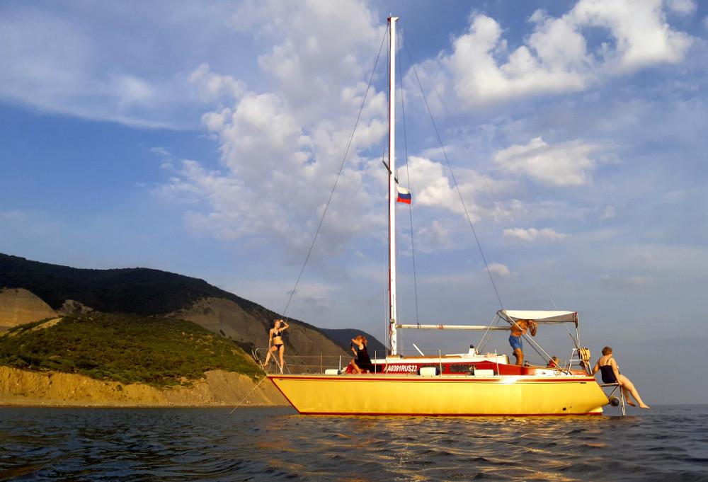 Фото: Круизная парусная яхта Karter