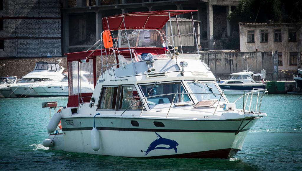 Фото: Быстроходная яхта «Yamaha»