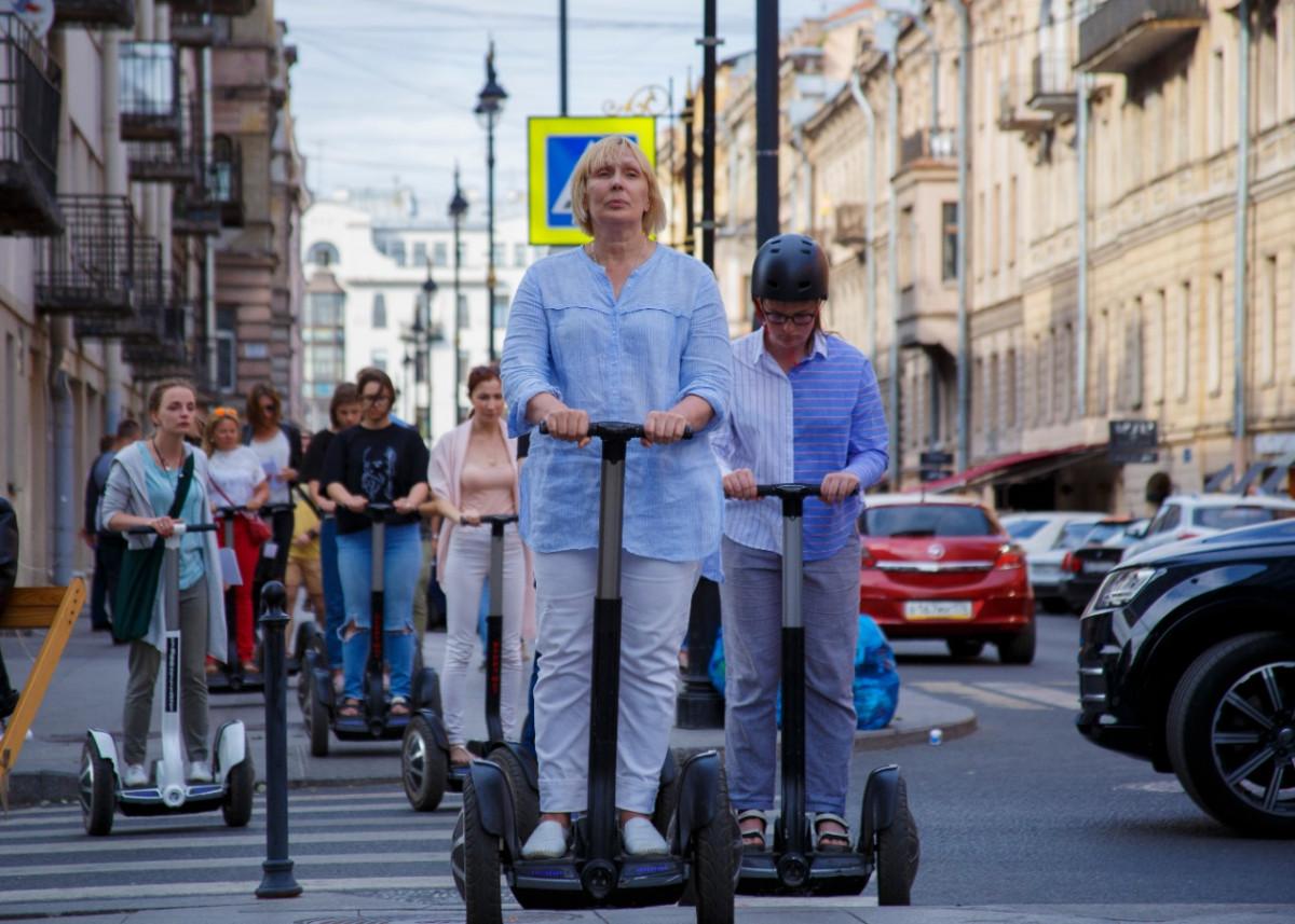 Фото:  Сегвей-тур «Тайны и легенды Петербурга»