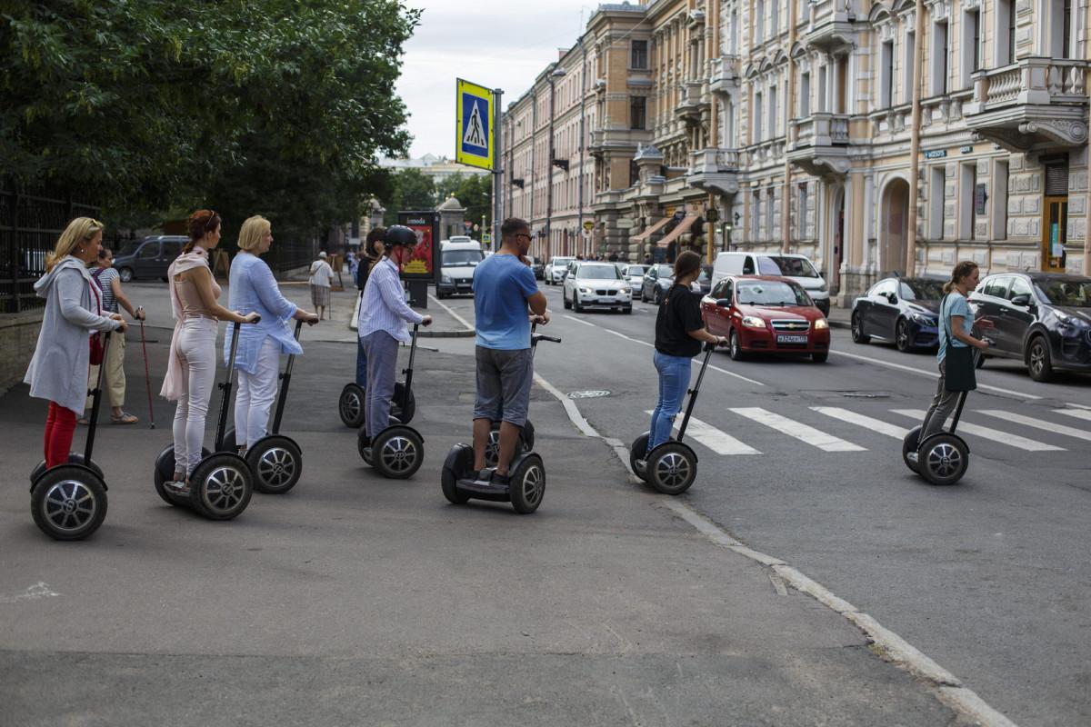 Фото: Сегвей-тур «Мистический Петербург»