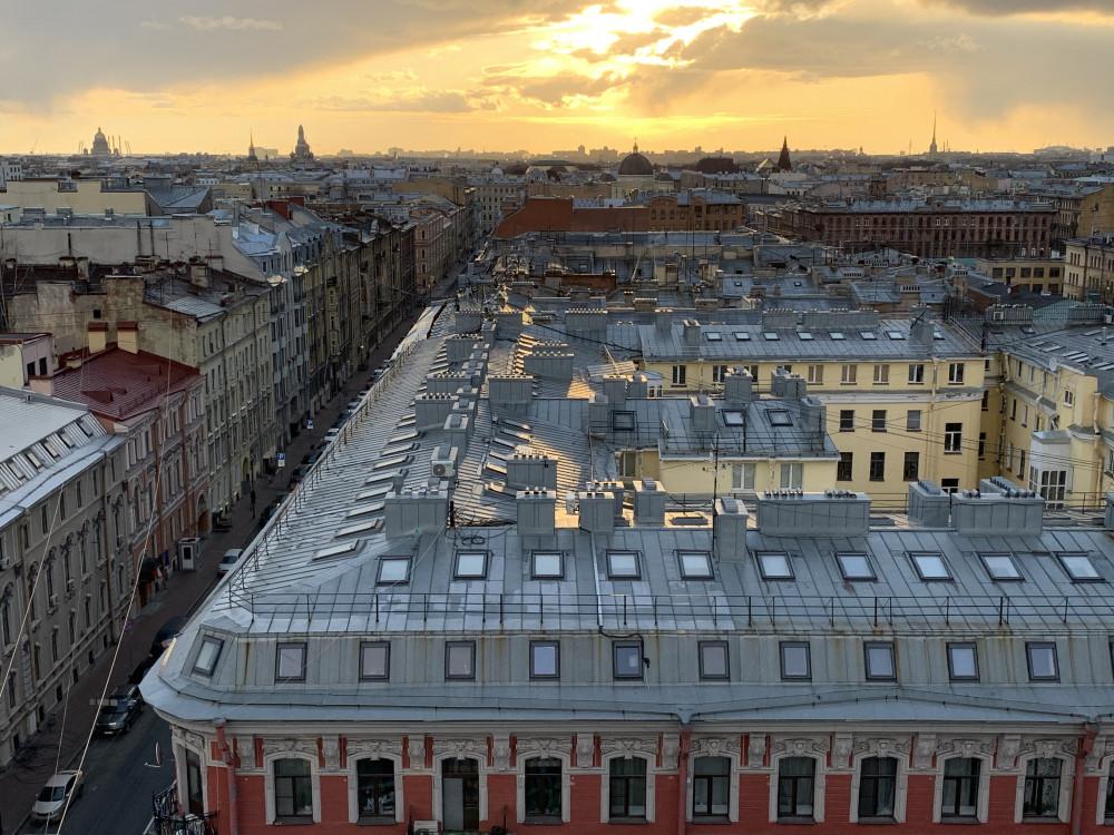 Фото: Петербург с крыши