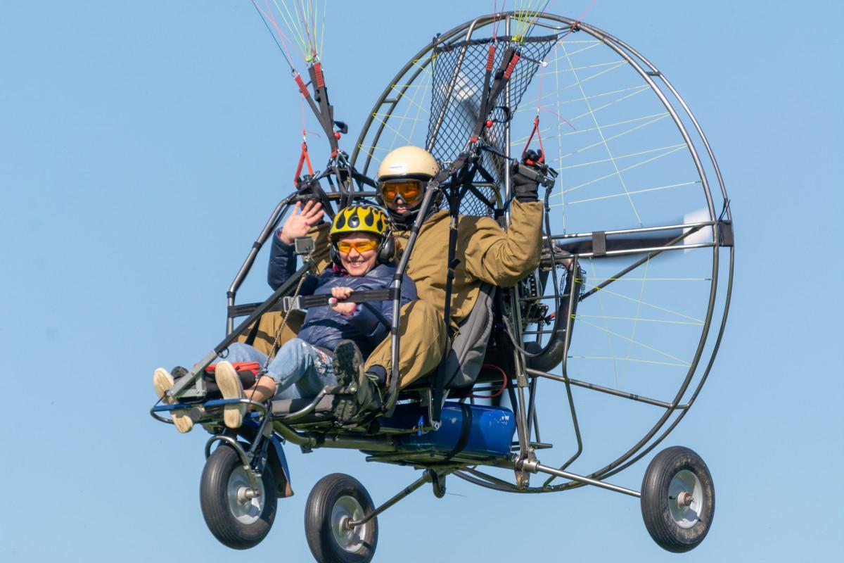 Фото: Полёт на паратрайке «Прыжок в Небо»