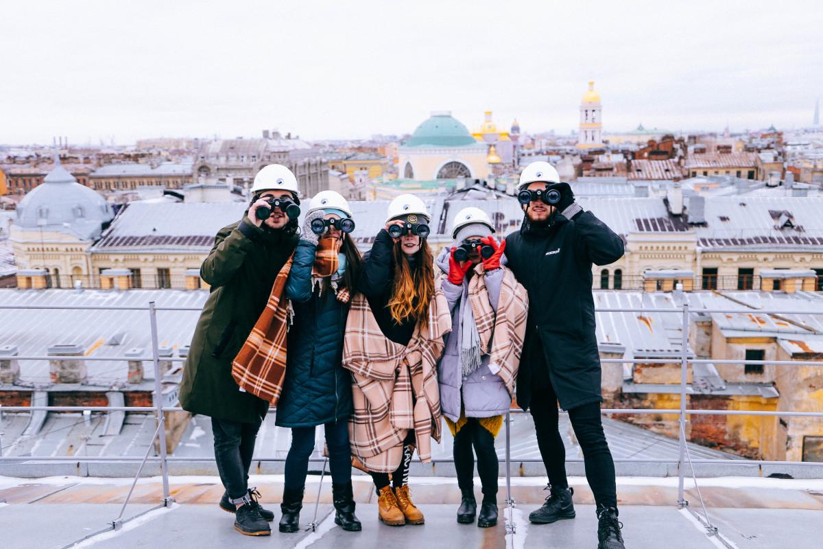 Фото: По крышам Петербурга
