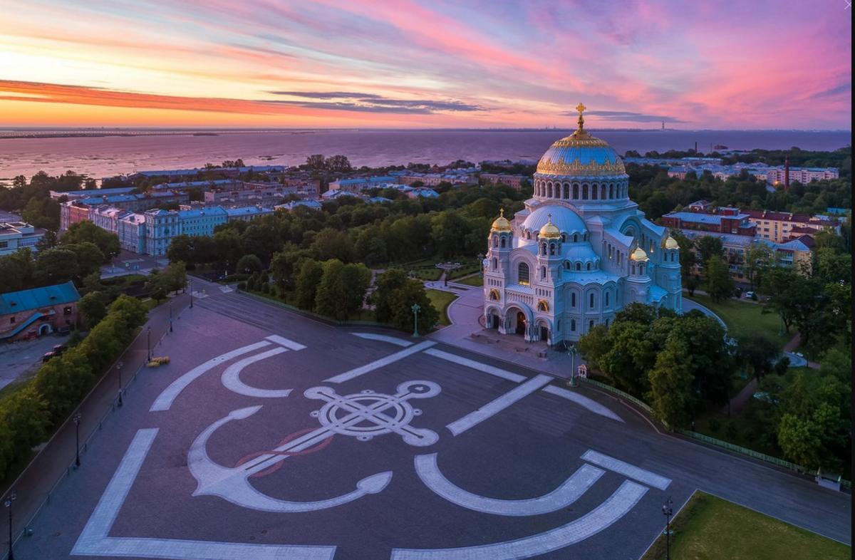 Фото: Город-крепость Кронштадт + Морской собор