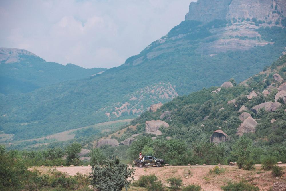 Фото: На вершину Демерджи