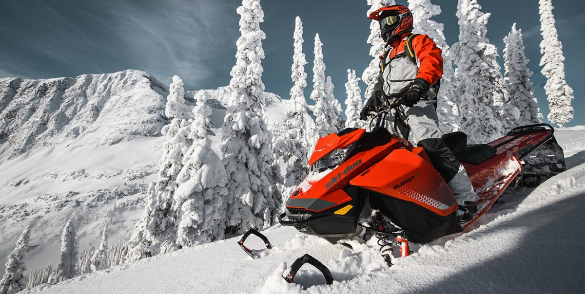 Фото: «Горный снегоход» в Красной Поляне