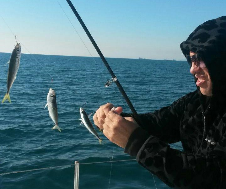 Фото: Рыбалка на яхте в Геленджике