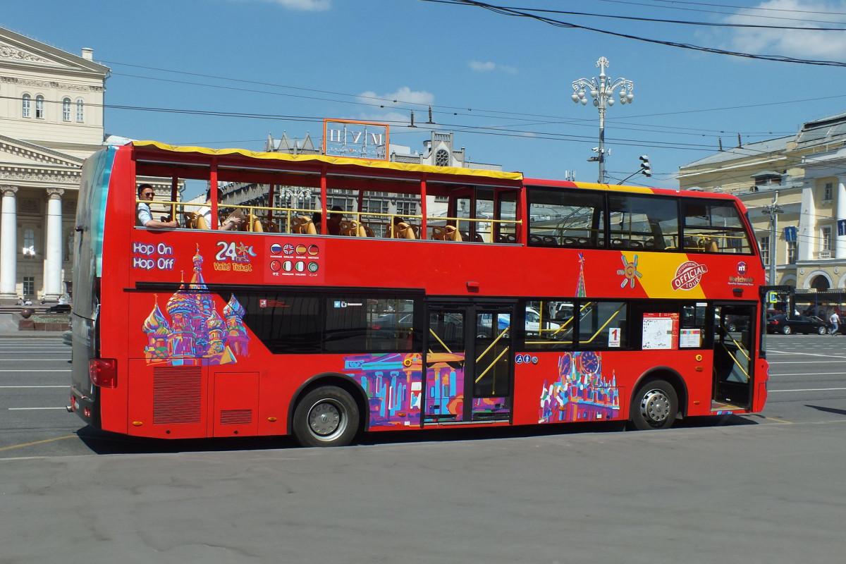 Фото: Обзорная по Москве на двухэтажном автобусе