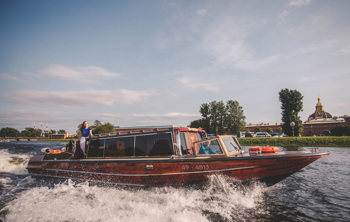 """Фото: Аренда катера """"Венецианское такси"""""""