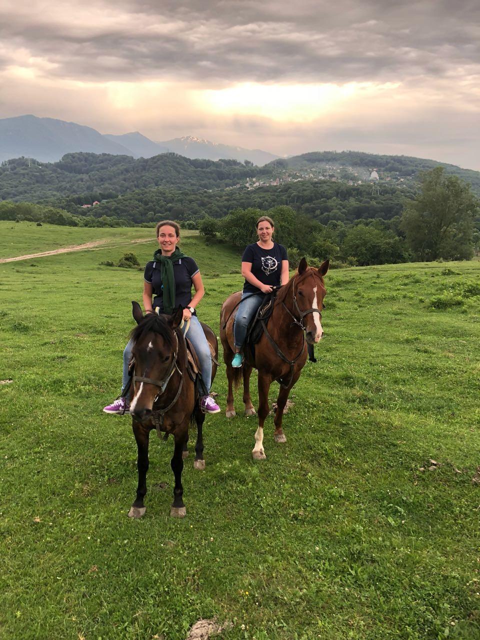 Фото: Конный маршрут к Сухому Каньону Псахо