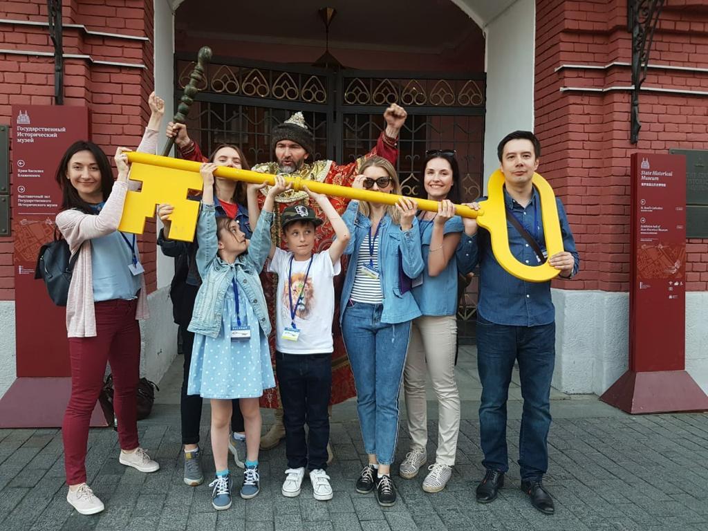 Фото: «За ключами от Москвы» экскурсия-квест