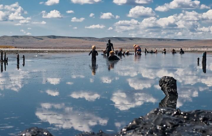 Фото: Лечебное озеро Чокрак