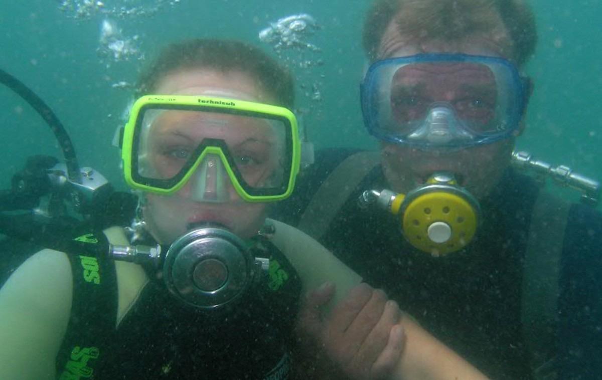 Фото: Погружение с аквалангом в Гагре