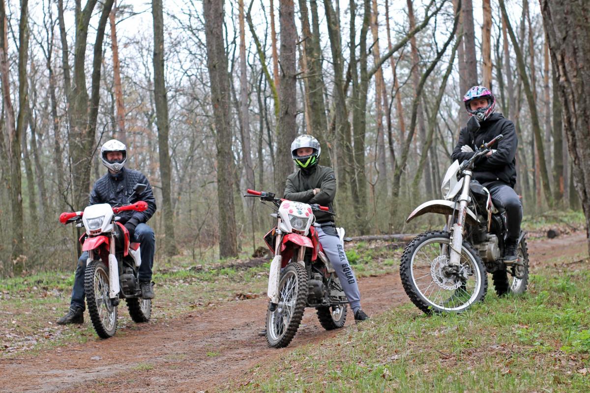 Фото: Тур на мотоциклах Эндуро