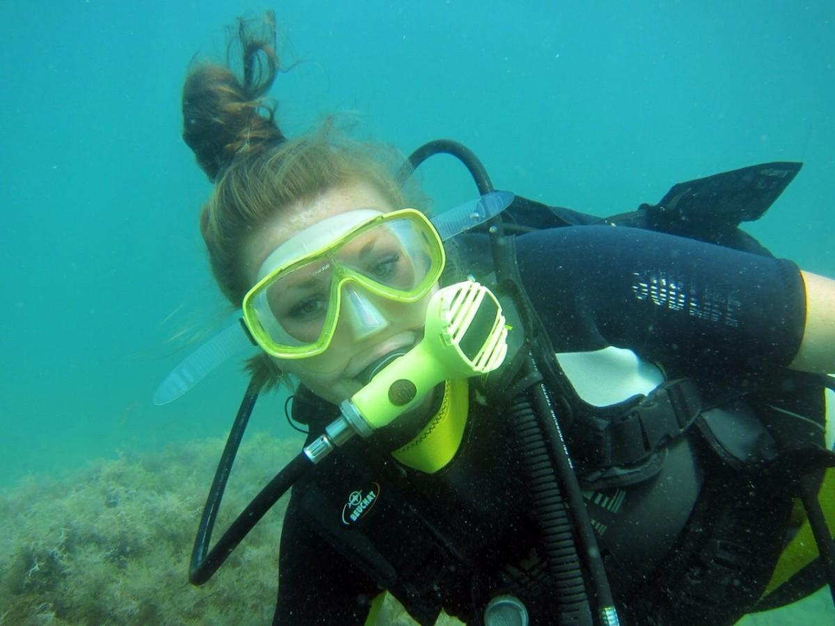 Фото: Погружение с аквалангом в Геленджике
