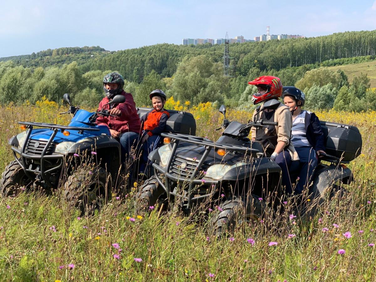 Фото: Квадро тур «Артёмовские луга»