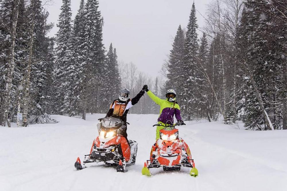 Фото: Премиум тур на снегоходах