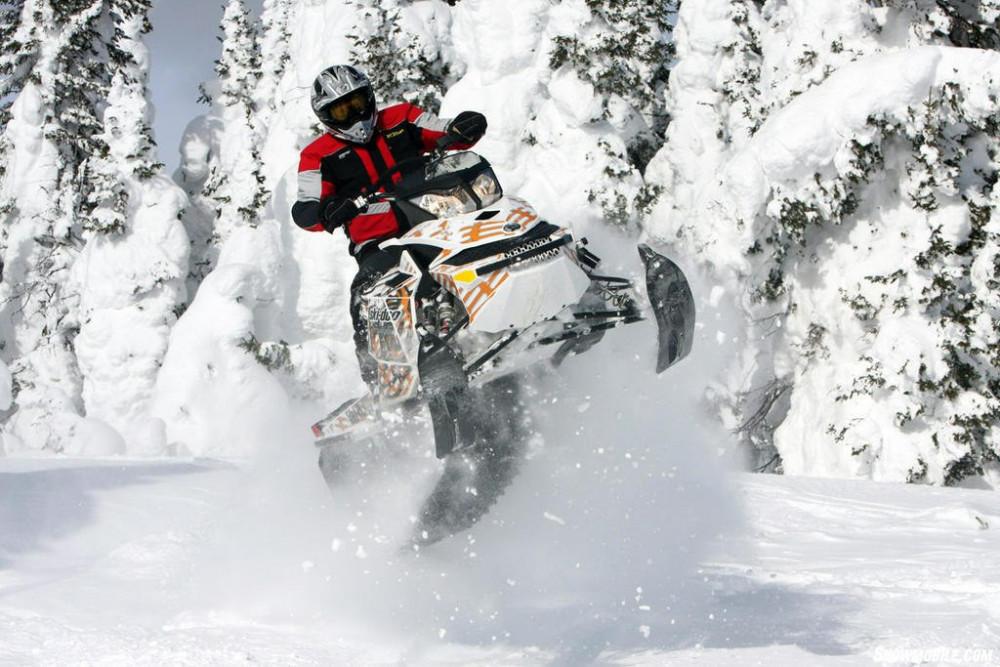 Фото: Экстрим-тур на снегоходе