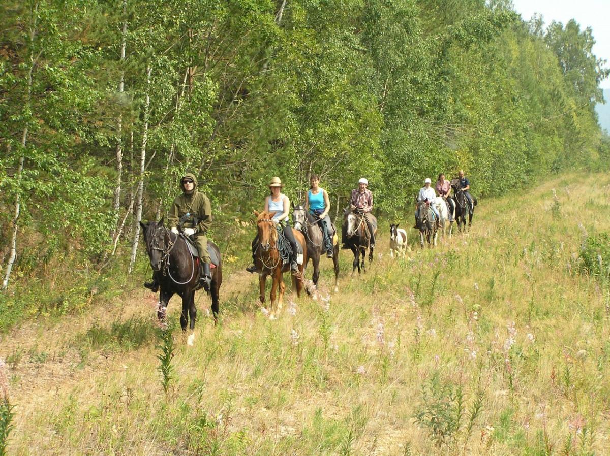 Фото: Конные походы по Челябинской области