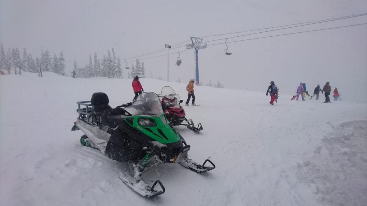 """Фото: Маршрут на снегоходах  """"3 вершины"""""""