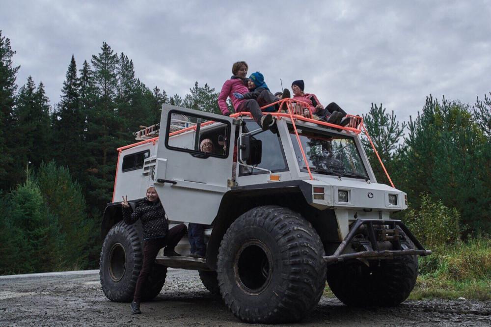 Фото: Тур на вездеходе к горе Шунут