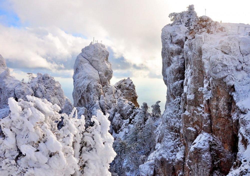 Фото: Зима на Ай-Петри
