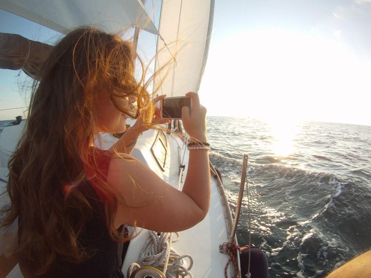 "Фото: ""В поисках рассвета"" (Ночь на яхте)"