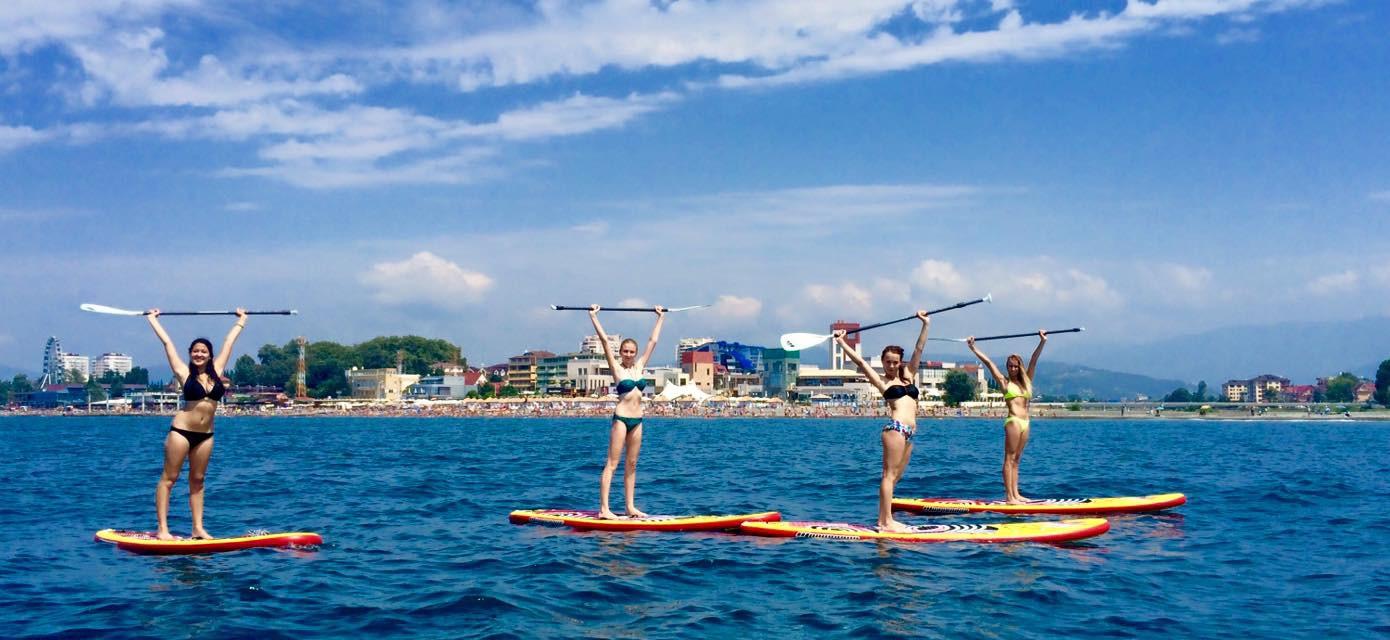 Фото: SUP Сёрфинг вдоль Олимпийского парка