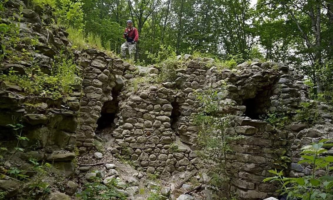 Фото: Поход: Ачипсинская крепость