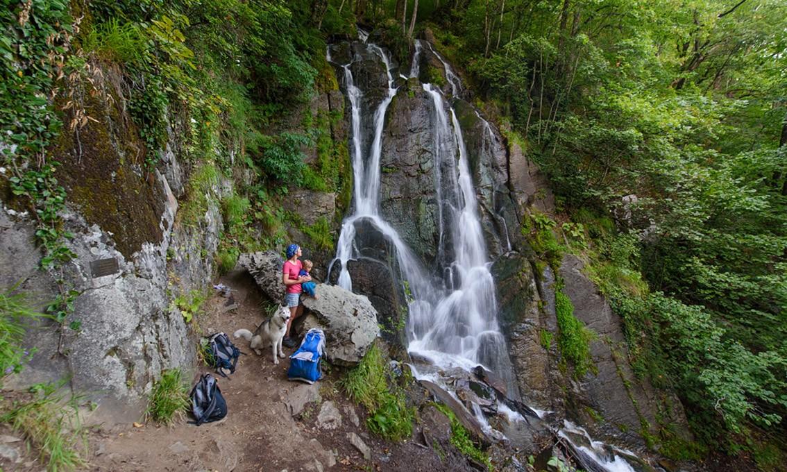 Фото: Поход: водопад Кейва