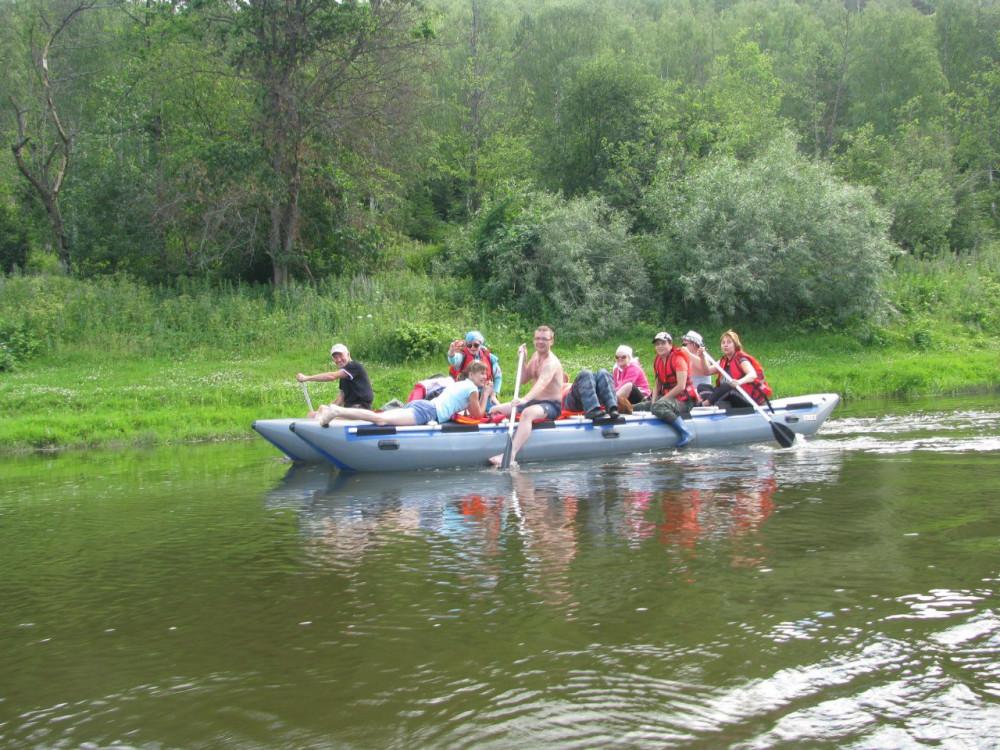 Фото: Сплав выходного дня по реке Ай
