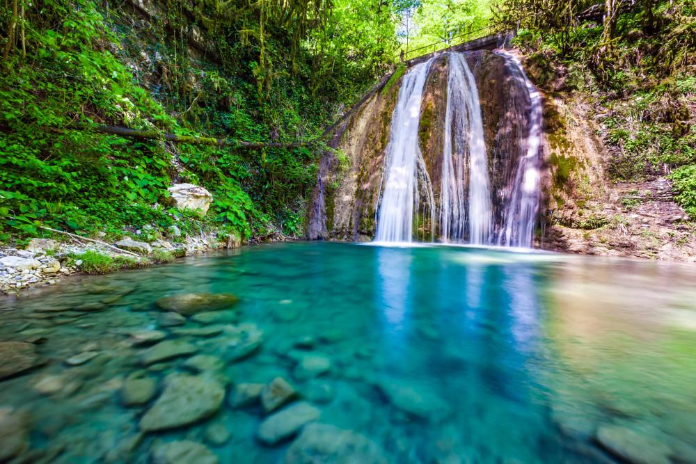 Фото: 33 водопада + Тюльпанное дерево
