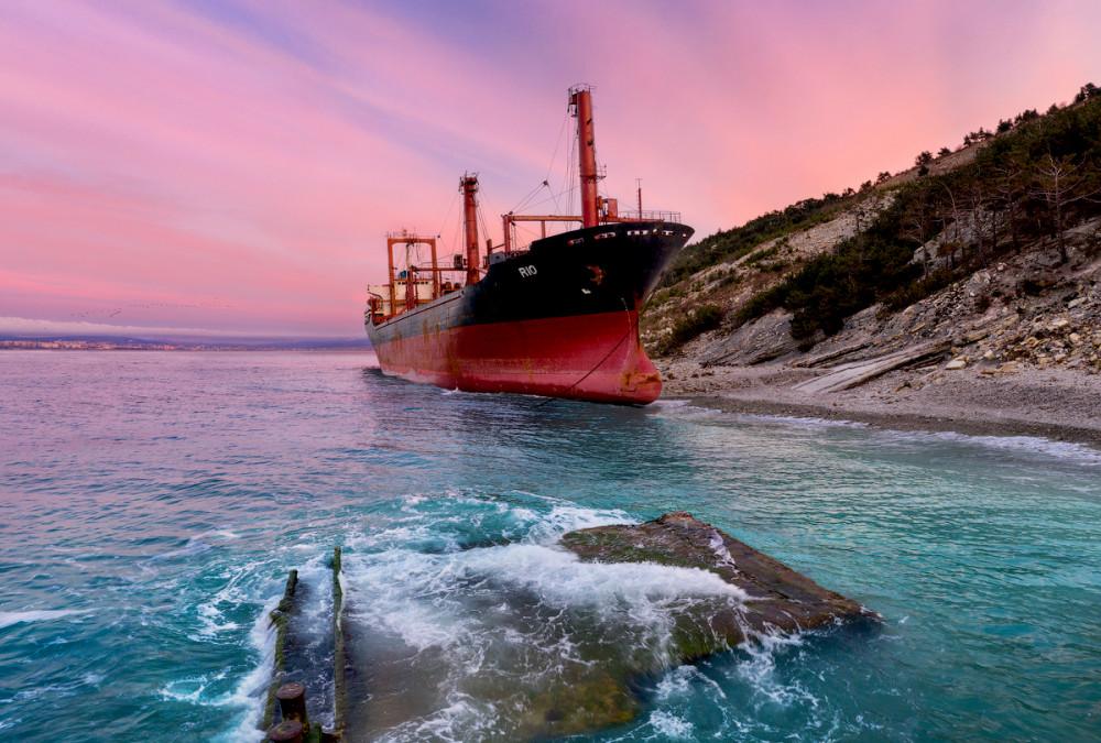 Фото: Маршрут к кораблю «Рио» в Кабардинке