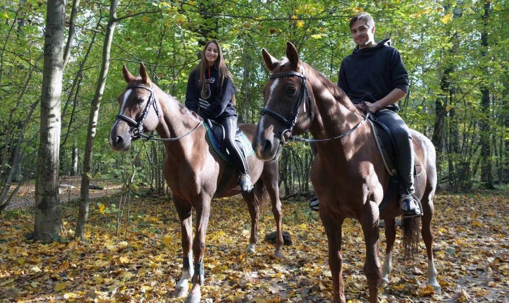Фото: Конные прогулки по лесу в Пятигорске