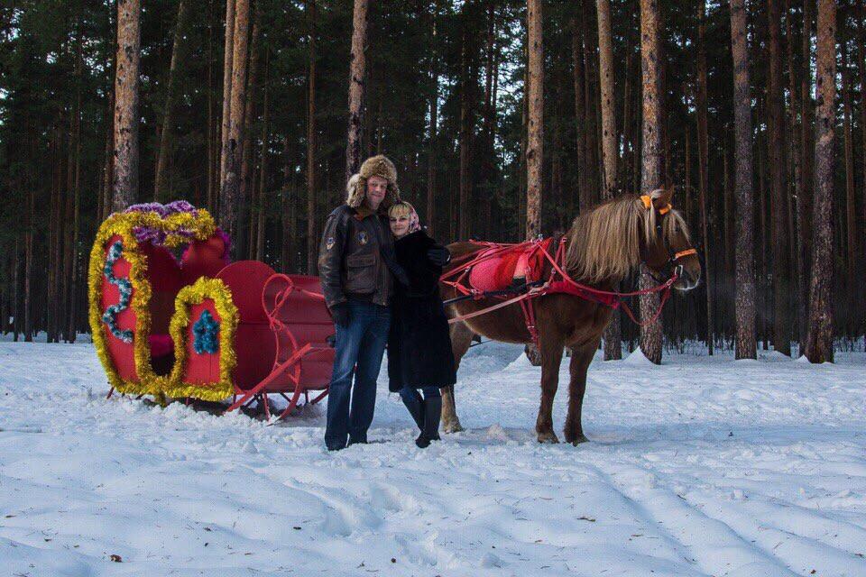 Фото: Катание на санях в Ярославле