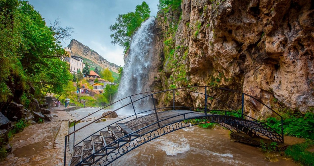 Фото: Кисловодск и Медовые водопады