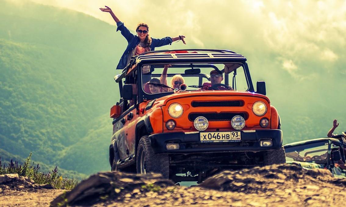 Фото: Супер-тур на джипах: Геленджик