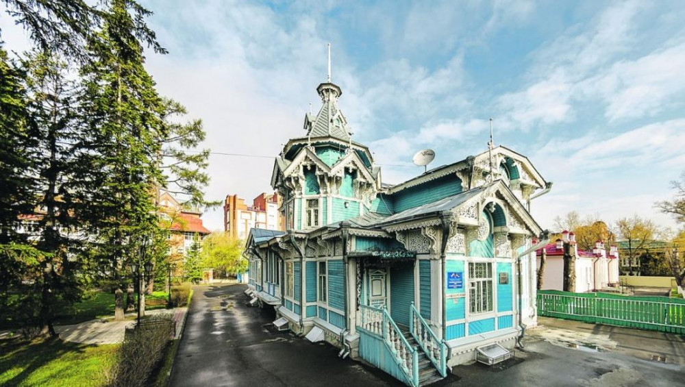 Фото: Деревянная архитектура Томска