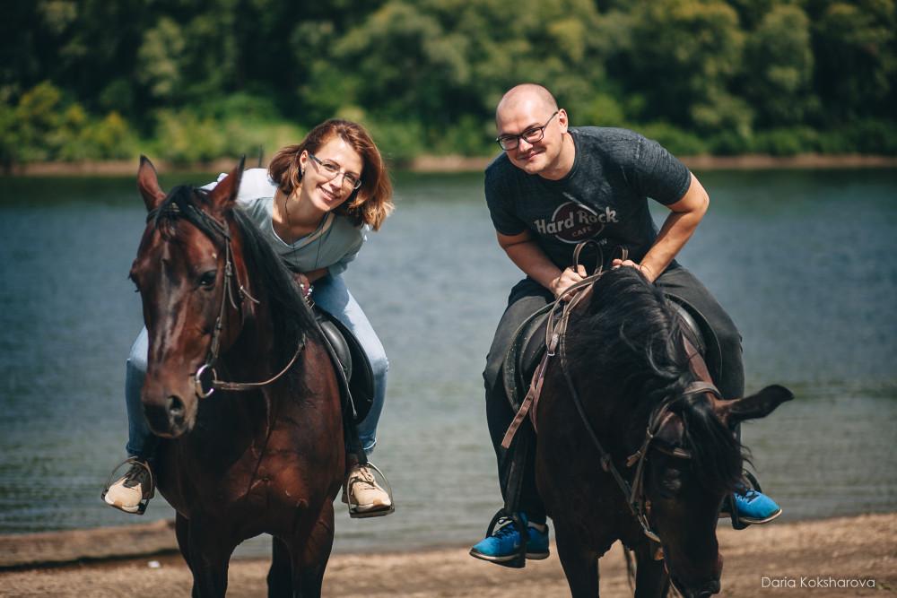 Фото: Спокойные конные прогулки