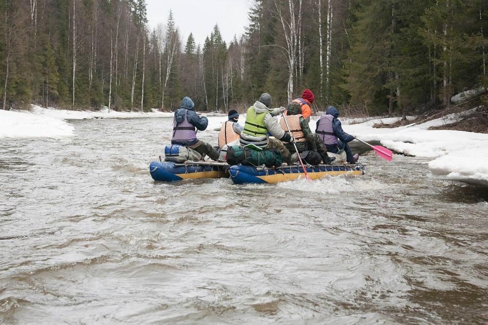 Фото: Сплав по реке Чусовая