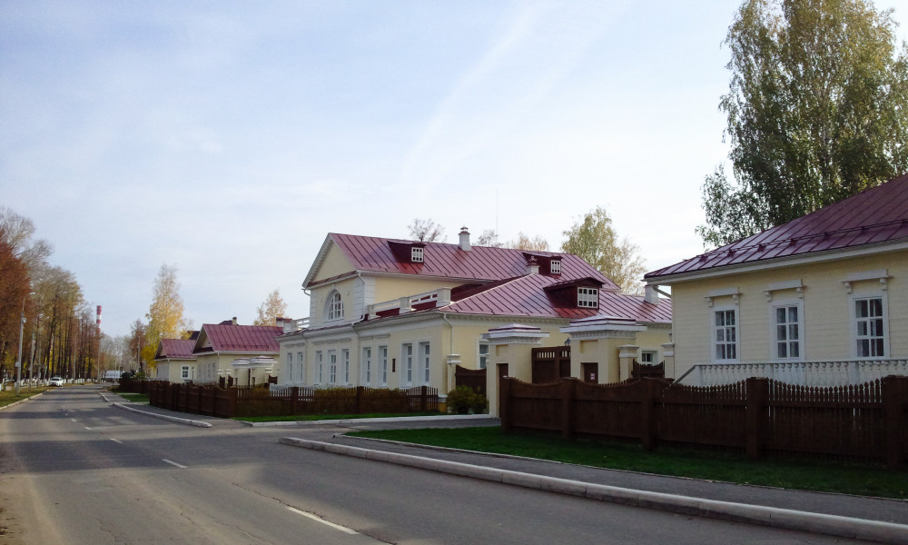Фото: Воткинск-Родина Петра Ильича Чайковского