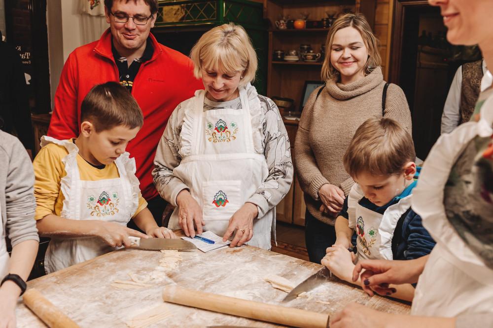 Фото: Мастер-класс татарской кухни