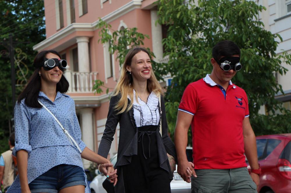 Фото: Симферополь с закрытыми глазами