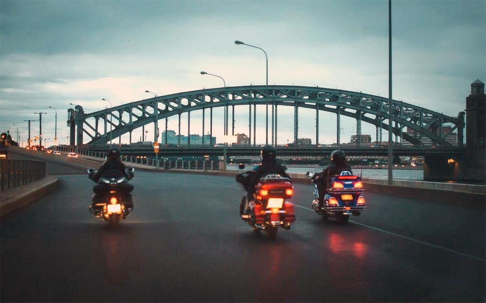 Фото: Через 7 мостов на мотоцикле