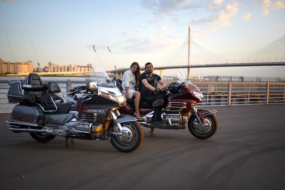 Фото: По ЗСД на мотоцикле