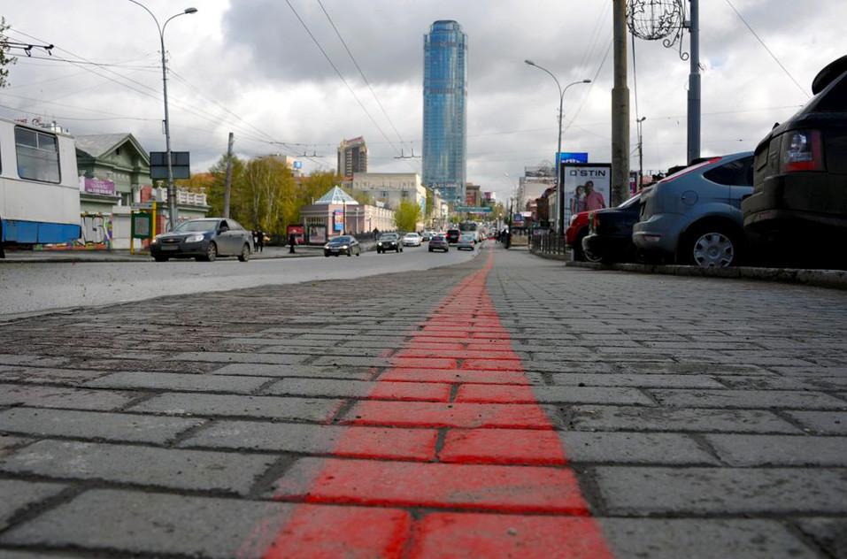 Фото: Пешеходный маршрут Красная линия