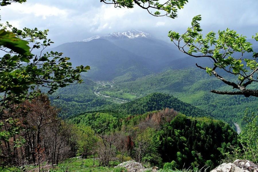 Фото: Природа Адыгеи. В долину реки Белой